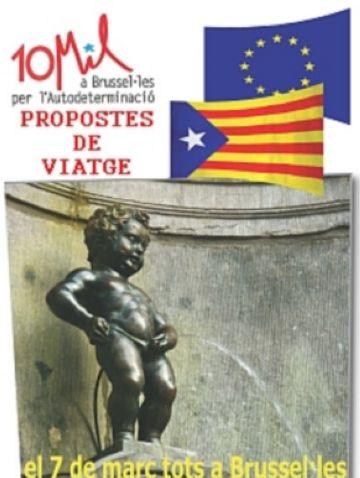 Sant Cugat ratifica el seu compromís amb el dret de decidir però no dóna suport a la concentració de Brussel·les