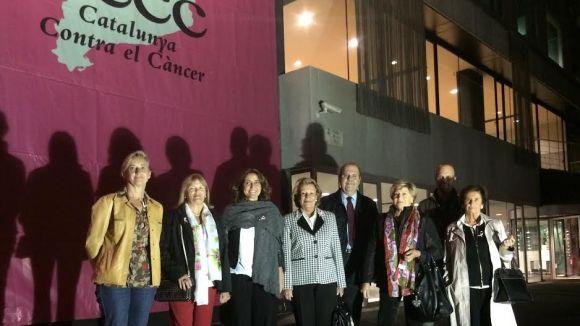 Sant Cugat llança un missatge d'optimisme contra el càncer de mama