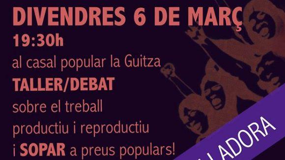 Fragment del cartell de la iniciativa / Foto: CUP