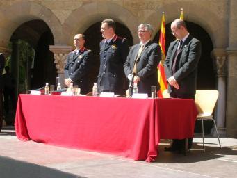 L'Ajuntament reclama més mossos durant la celebració del Dia de les Esquadres