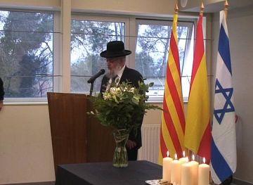 Crida a la tolerància en el dia en memòria de les víctimes de l'Holocaust