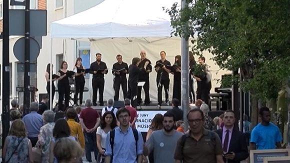 Sant Cugat mostra el seu potencial en el Dia Internacional de la Música