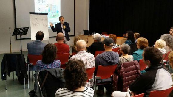 Eduard Sala demana actitud positiva en el suport als malalts als actes del Dia de la Salut Mental