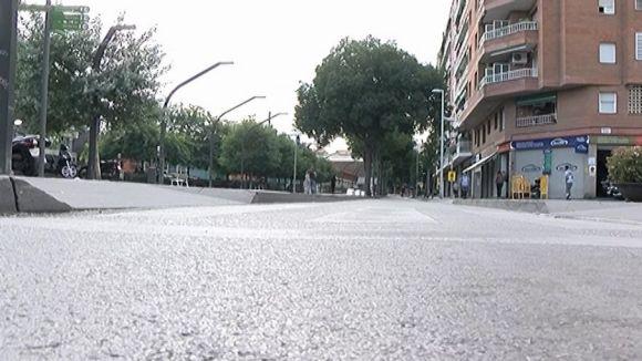 El tall de trànsit afecta l'avinguda de Cerdanyola i la Rambla del Celler