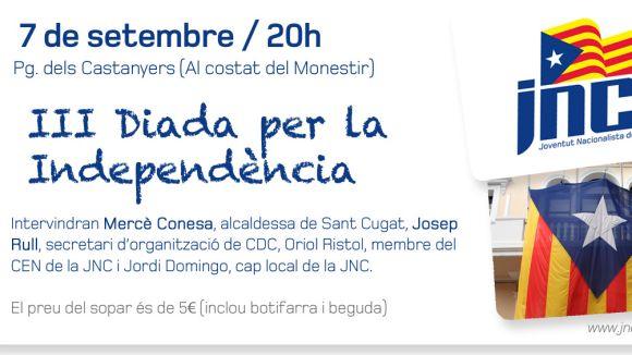 La Diada per la Independència de la JNC s'ajorna fins dissabte vinent