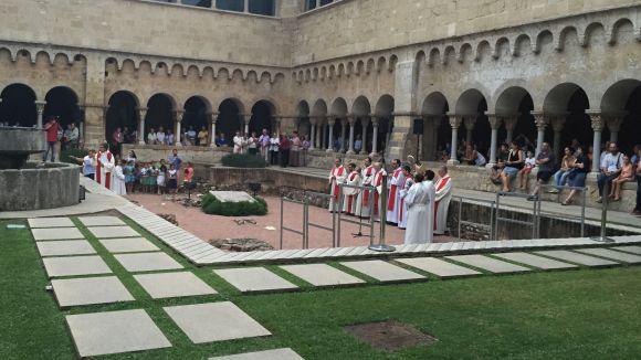 Sant Cugat manté viva avui la tradició de commemorar el martiri de Sant Cugat