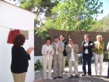 Durant l'acte, s'han inaugurat els Jardins 11 de setembre
