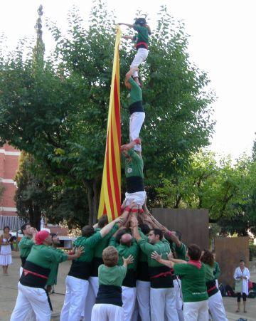 Gausacs, colla revelació 2011 segons la revista 'Castells'