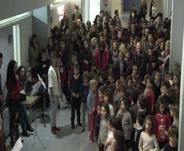 Èxit rotund de participació a la diada de Santa Cecília de l'Escola de Música Victòria dels Àngels