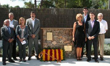 Valldoreix commemora la Diada amb un monument a Francesc Busquets