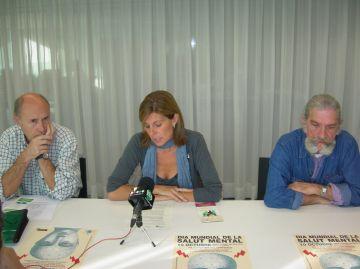 Una taula informativa i una conferència sensibilitzaran els ciutadans sobre les malalties mentals