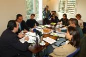 Jordi Joly ha presentat aquestes dues iniciatives emmarcades en les trobades'Santcugatribuna'.
