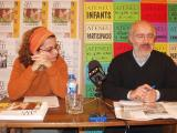 Ramon Pros, president de l'Ateneu i Eva Romero, redactora de l'edició.