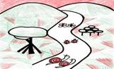 Dibuix de les samarretes de la Marxa Infantil d'enguany