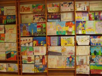 El concurs de pintura infantil del Club Cantarell guardona Maria Dolors Grau d'entre 720 treballs