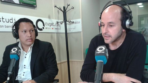 Diego Castelo i Juanjo Cáceres al 'Sant Cugat a fons - Matins en Xarxa'
