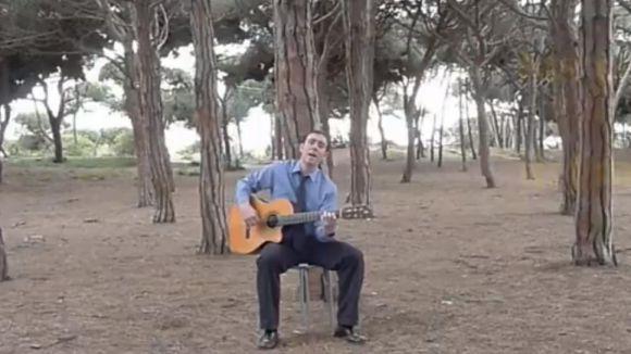 Fotograma del videoclip d''Empezar de nuevo', de Diego Domingo / Foto: Youtube