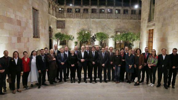 Els santcugatencs Àlex Corretja i Carme Colomina, dos dels nous 'ambaixadors' de Catalunya