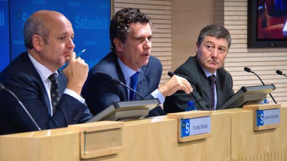 Banc Sabadell obté 90 milions d'euros nets de benefici