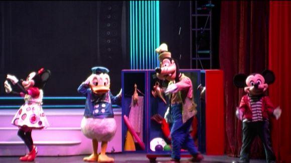 El 'Disney Live! Mickey Music Festival' fa ballar grans i petits al Teatre-Auditori