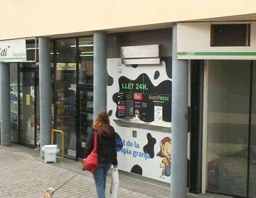 Sant Cugat té un nou dispensador de llet fresca