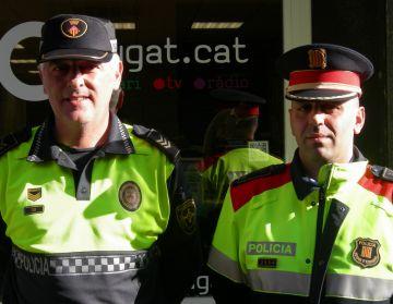 Les patrulles mixtes de l'operatiu Grèvol recorren des d'avui els carrers de la ciutat