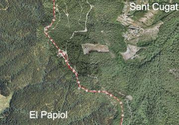 La Generalitat situa l'ermita de la Salut només en el terme municipal d'El Papiol