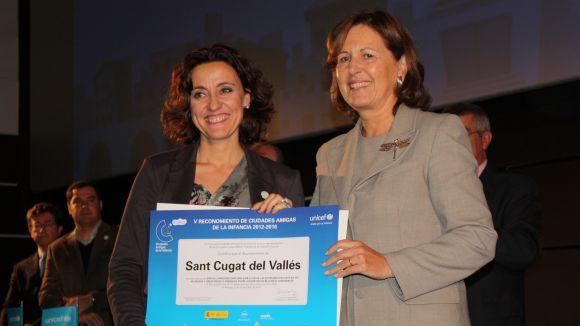 L'alcaldessa ha recollit la distinció a Màlaga