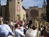 Amb aquest acte comença la Setmana Santa, que acabarà el Dilluns de Pasqua