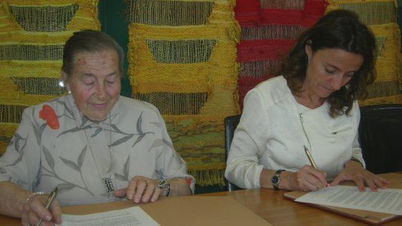 La primera alumna de Grau-Garriga dóna obra als Museus de Sant Cugat