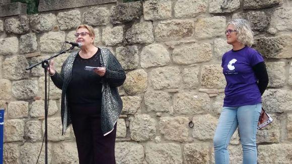 La directora de teatre Dolors Vilarasau, Caparrota de l'Any
