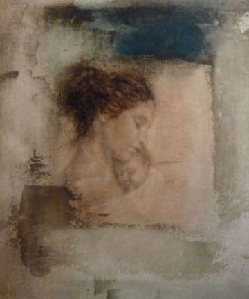 L'artista Doménech i Sánchez mostra la màgia dels ambients i de la figura de la dona a la Sala Rusiñol