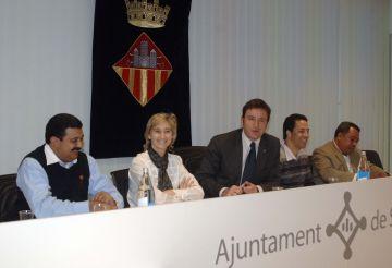 Una delegació dominicana visita l'Ajuntament