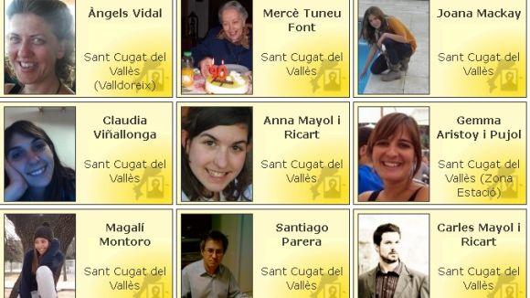 Santcugatencs donen la cara per la independència