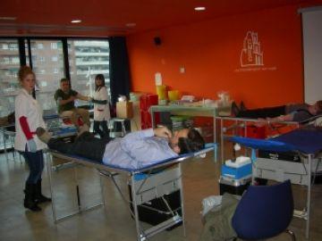 78 santcugatencs donen sang en dos dies