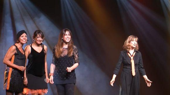'Les dones de Frank' homenatja al Teatre-Auditori el fenomen fan generat per Sinatra