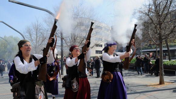 Sant Cugat engrandeix la 9a Trobada de Dones Trabucaires de Catalunya