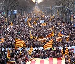 La Plataforma pel Dret de Decidir i Arcadi Oliveres participaran a la marxa cap al Parlament al juny
