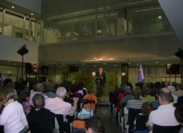 300 estrangers de la UE residents a Sant Cugat, a la recepció en honor al dia d'Europa