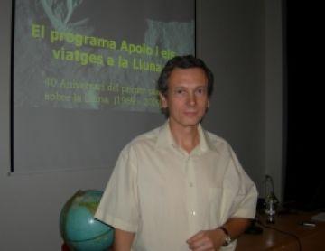 El programa Apolo i l'arribada a la Lluna, temes principals d'una xerrada de l'AAVSC