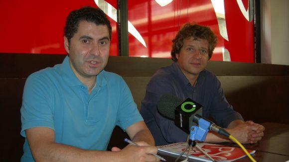 Ferran Villaseñor i Pere Soler, d'esquerra a dreta