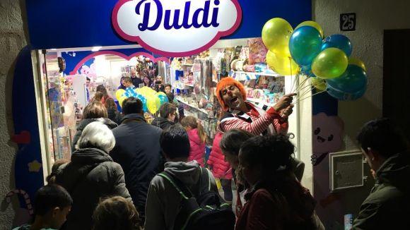 Duldi ha obert les portes aquest dimecres amb regals per als seus clients