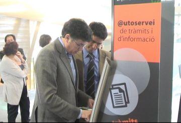 Tret de sortida a l'e-Ajuntament, un sistema per fer els tràmits municipals per internet