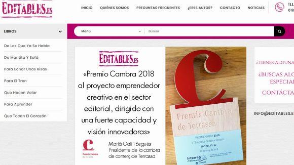 Web de l'editorial