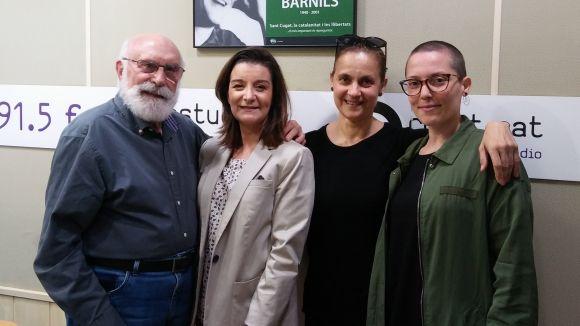 Eduard Jener, Gemma Navarra, Laura López-Osornio i Nekane Morera.