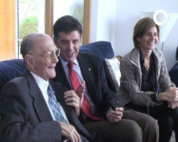 El santcugatenc Eduard Vivas celebra 100 anys
