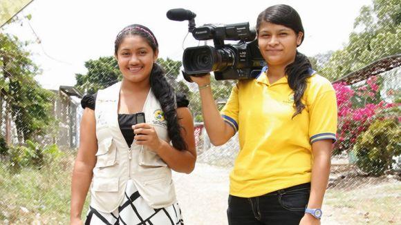 Nens i adolescents de Nicaragua reivindiquen els seus drets a través del periodisme