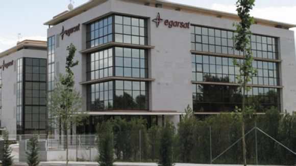 Ingressos de 214 milions d'euros per a Egarsat durant el 2011