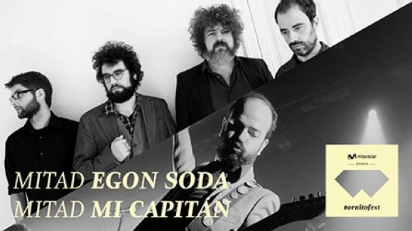 Mi Capitán i Egon Soda portaran música al Movistar #Ornitofest
