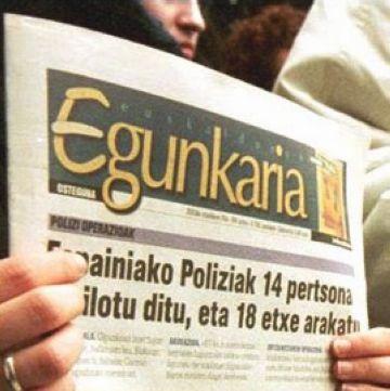 Sant Cugat se suma a les peticions d'arxivament del cas contra l''Egunkaria'